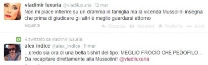 Alessandra Mussolini Mauro FLoriani baby squillo
