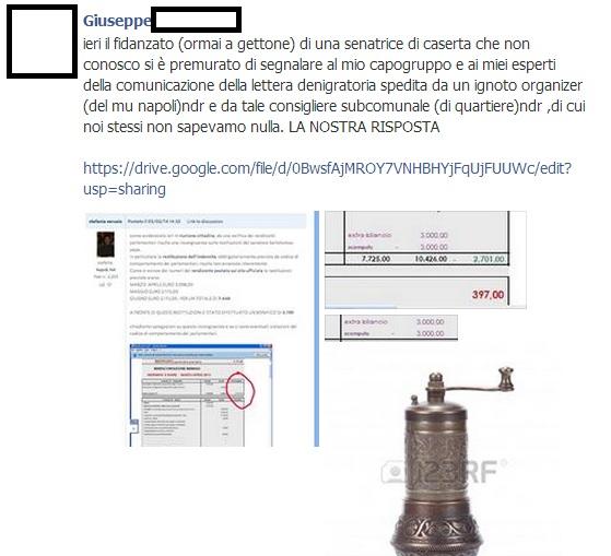 Napoli sfiducia Bartolomeo Pepe MoVimento 5 Stelle