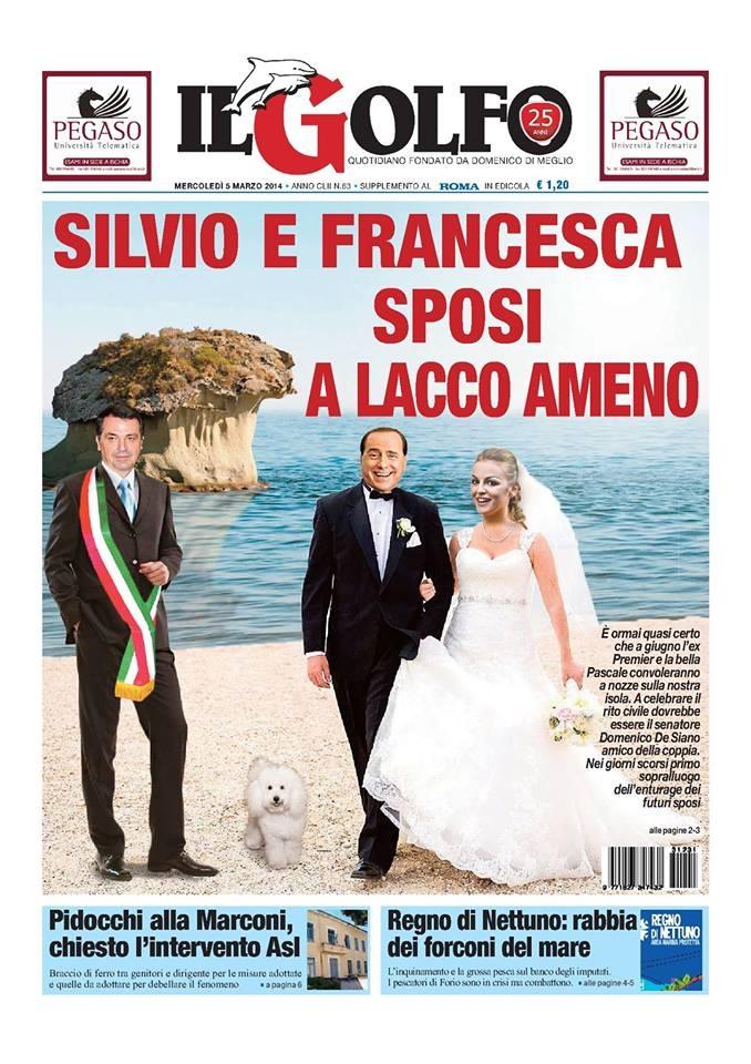 Silvio Berlusconi Francesca Pascale sposi 4