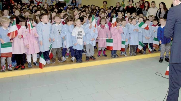 bambini renzi scuola balilla 1