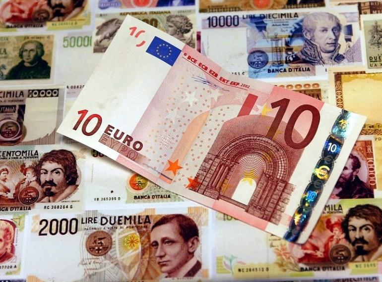 banconote lire 1