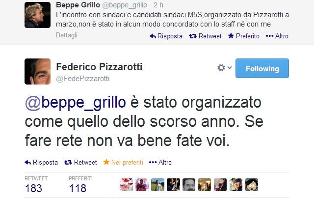 beppe grillo scomunica federico pizzarotti 2