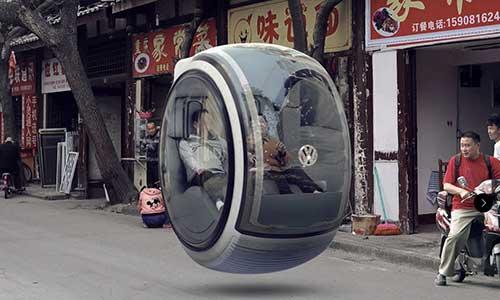 La bufala dell'auto Volkswagen volante   Giornalettismo