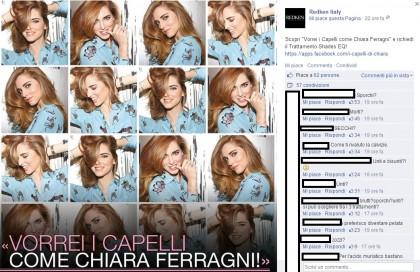 chiara ferragni capelli facebook 1