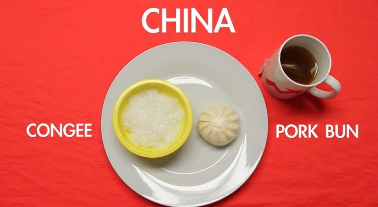Ti faccio vedere cosa mangia il mondo per colazione foto for Colazione cinese