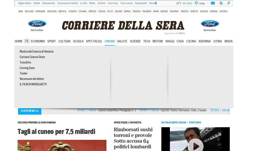 corriere della sera  cambio sito 4