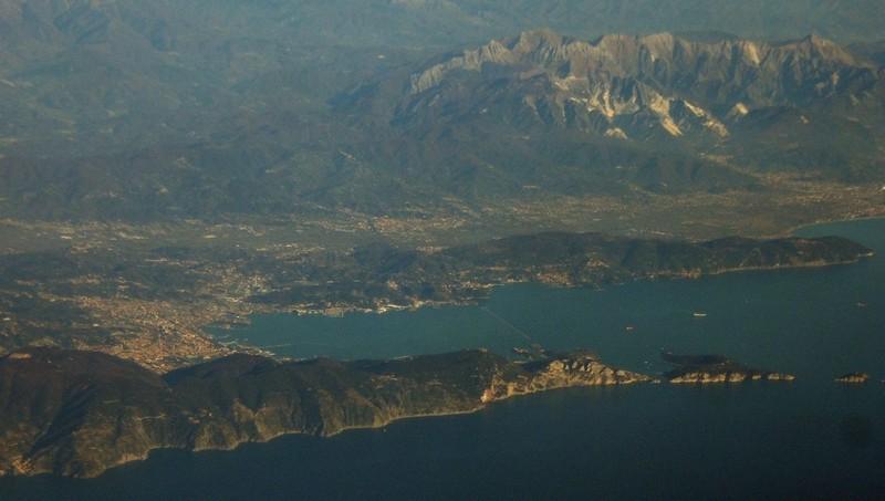 La provincia de La Spezia (Wikipedia)