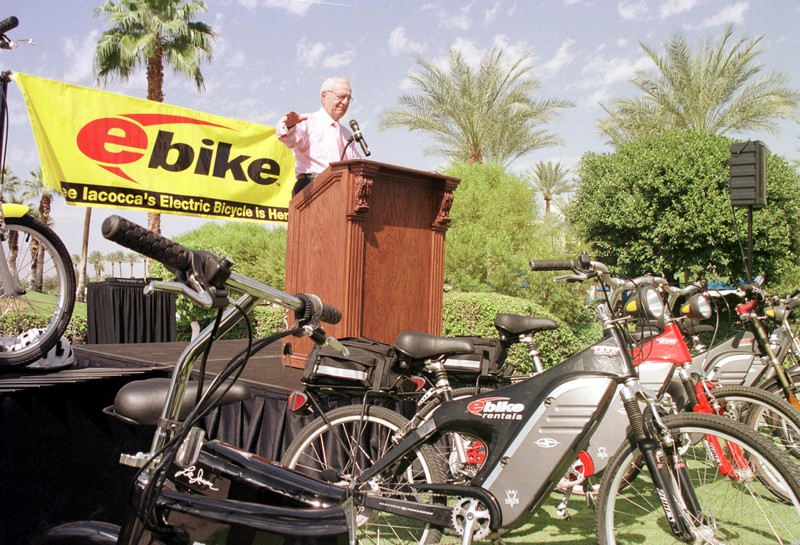 Lee Iacocca And His New E-Bike