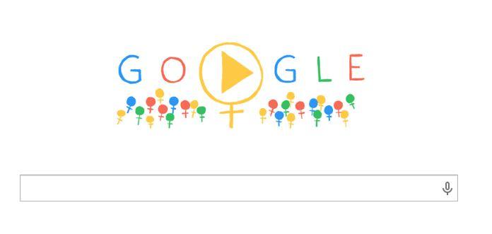 giornata internazionale donna doodle google 8 marzo