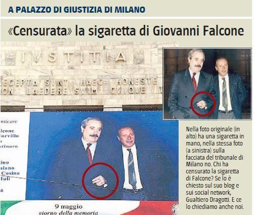 giovanni falcone sigaretta censurata