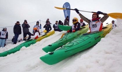 Snow Kayak Lituania