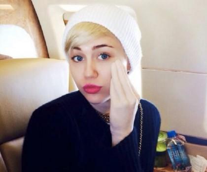 """Il nuovo """"giocattolo"""" di Miley Cyrus Twitter/@MileyCyrus"""