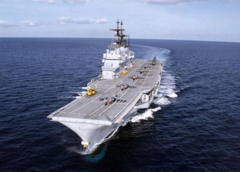 portaerei garibaldi f-35 dimezzati
