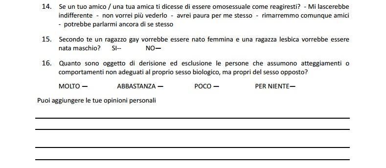 questionario discriminazioni 2