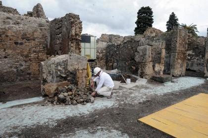 Pompei, al via i lavori di restauro