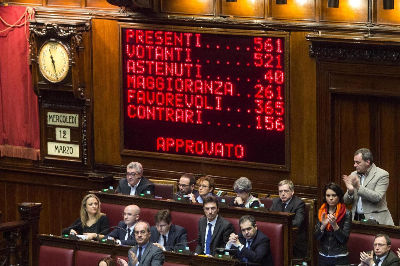 Matteo renzi l 39 italicum e l 39 inganno del senato for Camera del senato e dei deputati