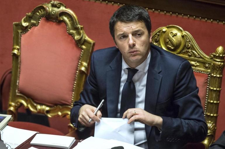 Senato - Fiducia governo Renzi