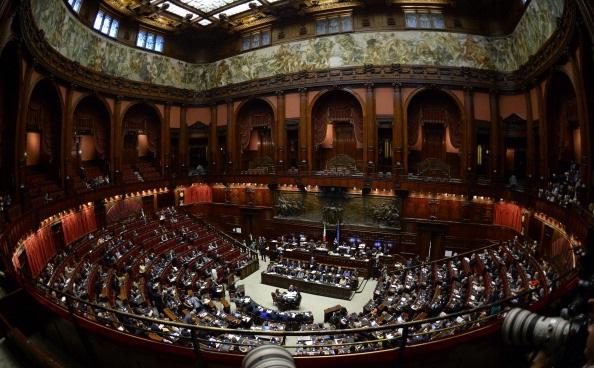 ITALY-POLITICS-GOVERNMENT-SENATE-LETTA-CRISIS