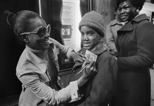 Cicely Tyson Signing an Autograph