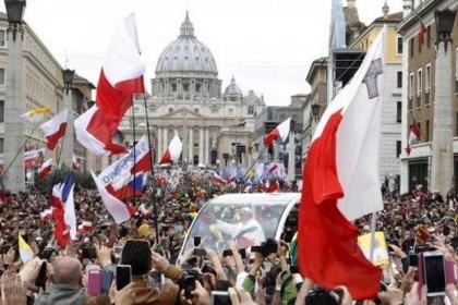 Canonizzazione Giovanni Paolo II Giovanni XXIII 9