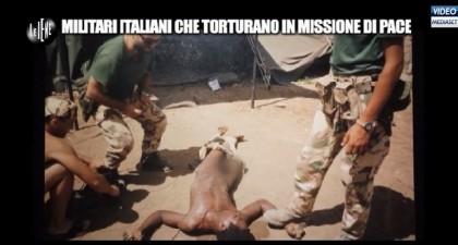Le Iene torture militari italiani Nassiriya 10