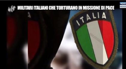 Le Iene torture militari italiani Nassiriya 8