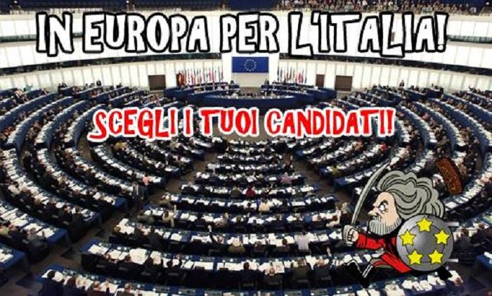 MoVimento 5 Stelle Europee candidati