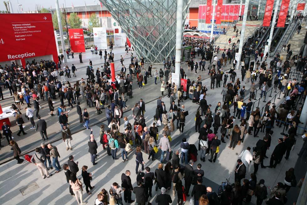 Le prime foto dal salone del mobile di milano foto 1 di for Salone di mobile milano