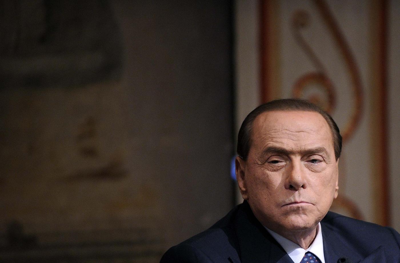 Berlusconi alla presentazione del libro 'Il sangue di Abele, vivi per testimoniare'