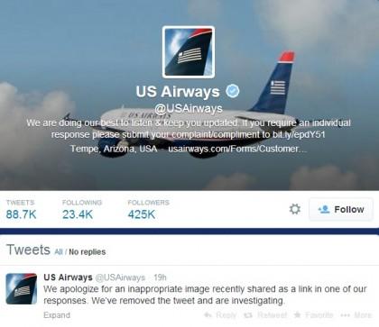 US Airways foto porno twitter  (1)