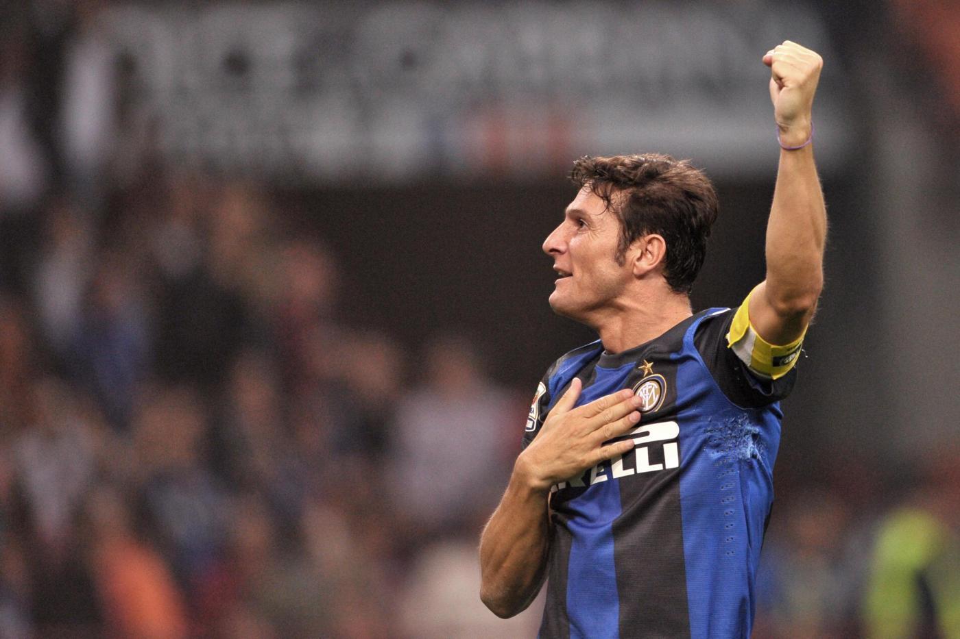 L'addio al calcio giocato di Javier Zanetti | Giornalettismo