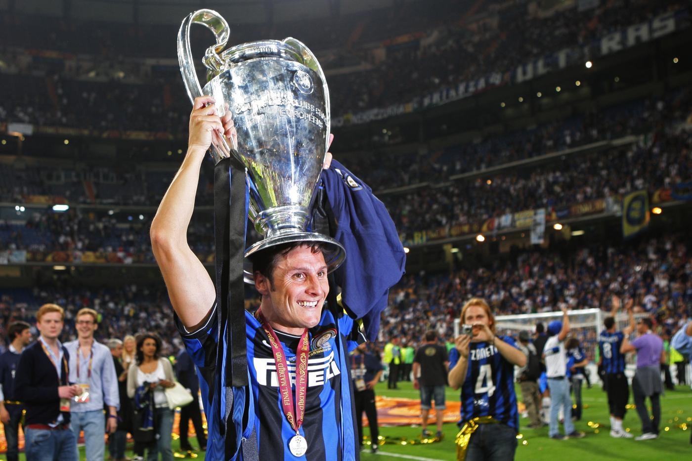 L'addio al calcio giocato di Javier Zanetti