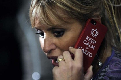alessandra mussolini cover iphone