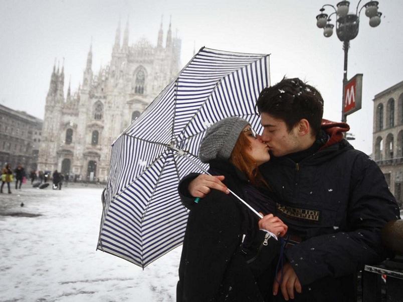 """"""" Big Snow """" forti nevicate nel nord Italia"""