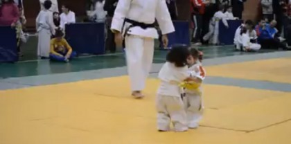 bambine judo video (2)