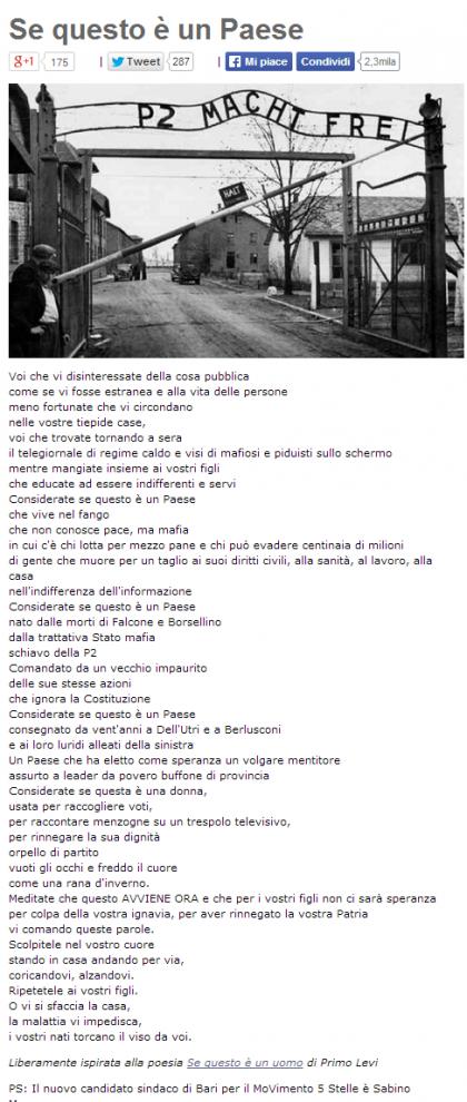 beppe grillo Auschwitz (12)