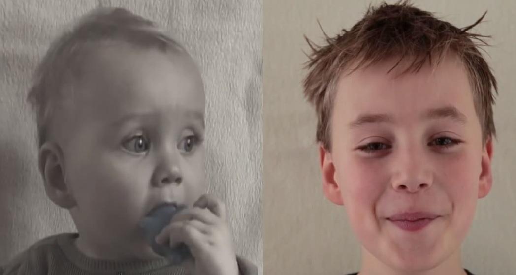 bimbo da 0 ad 11 anni
