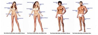 corpo ideale donne uomini 1
