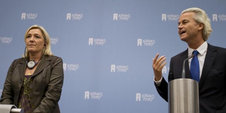 Geert Wilders, Marine le Pen