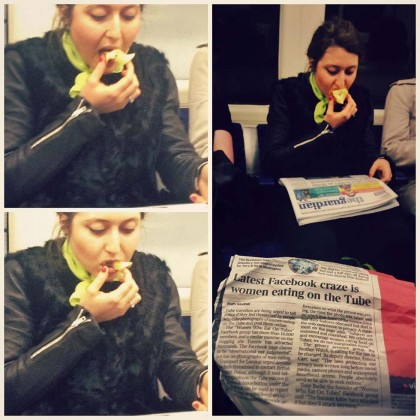 Foto: Facebook/Women Who Eat On Tube