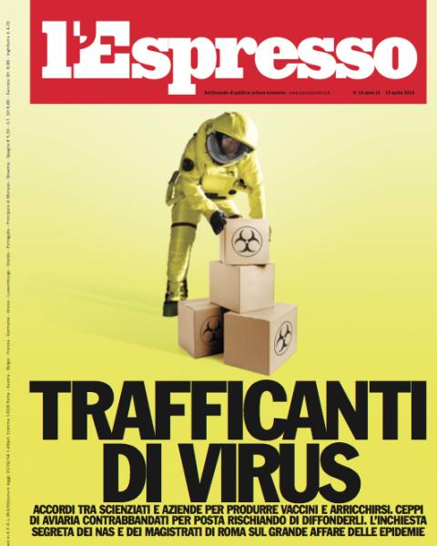 espresso trafficanti di virus