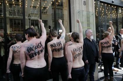 Femen contro Marine Le Pen