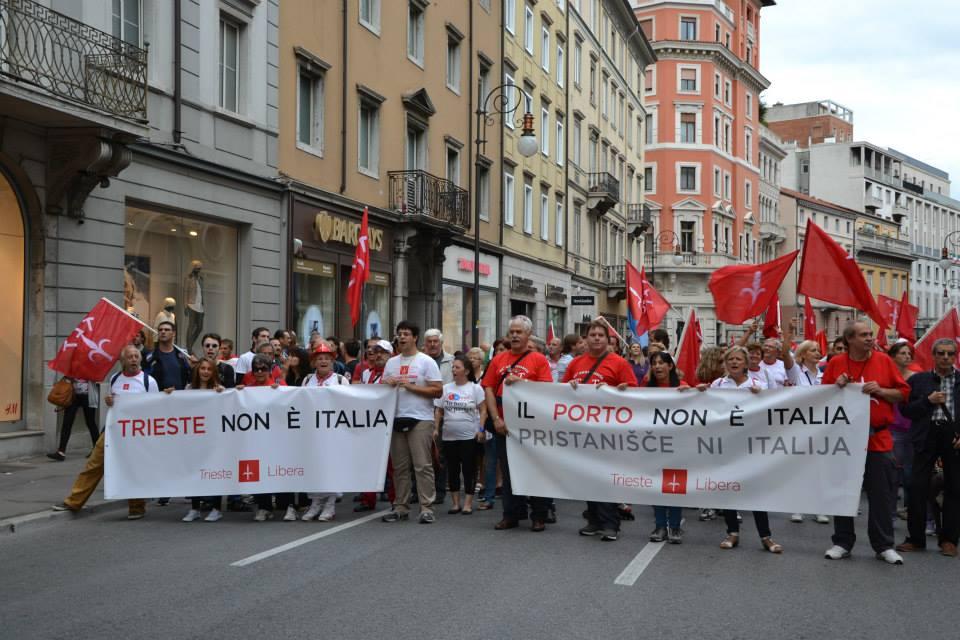 Quelli che rivendicano l'indipendenza del Territorio Libero di Trieste