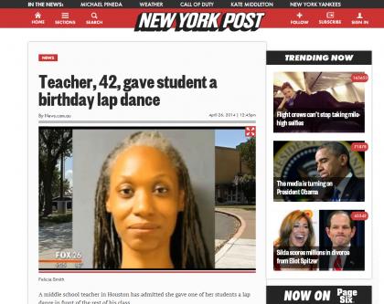insegnante lap dance