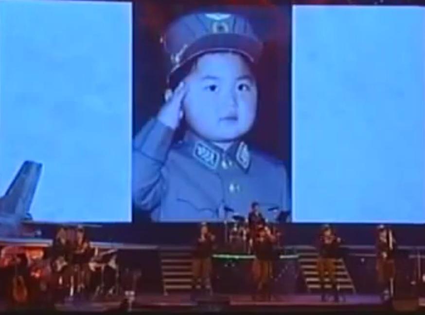 kim jong un bambino 2