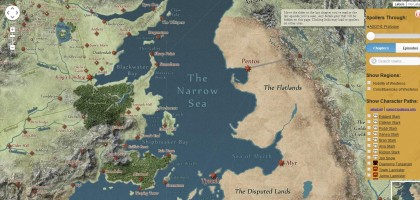 mappa game of thrones 2