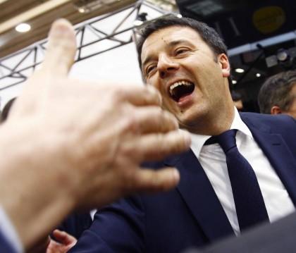 Matteo Renzi e la Grande Bellezza del Salone del Mobile
