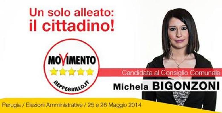 michela bigonzoni candidata movimento 5 stelle 1
