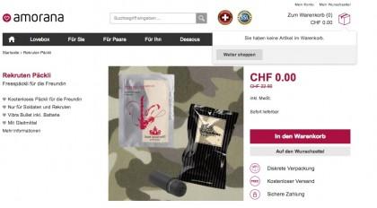 pacco sex toys reclute soldati svizzera 2