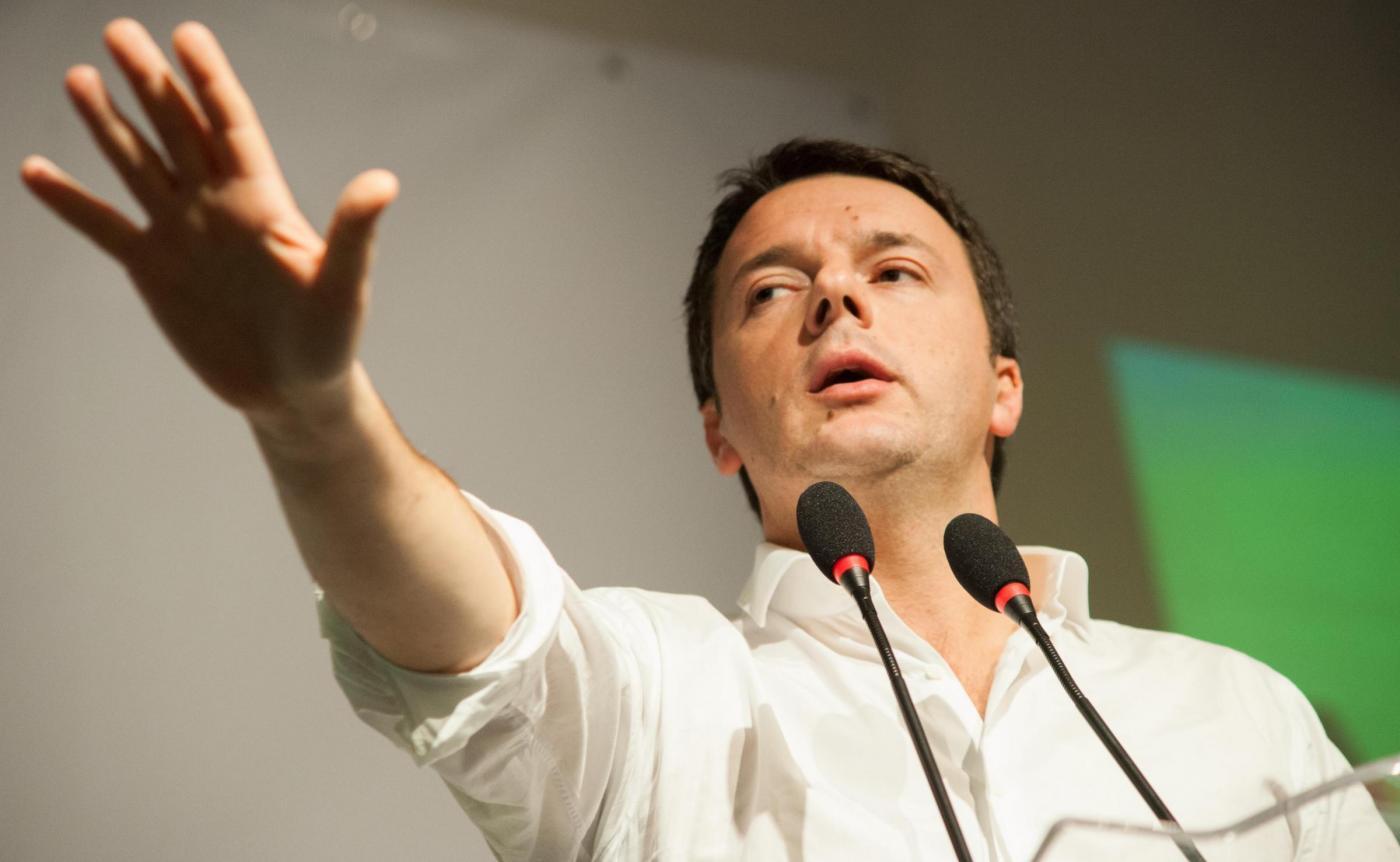 Matteo Renzi presenta il Def